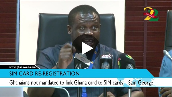 Ghanaians not mandated to link Ghana card to SIM cards – Sam George