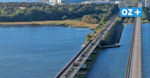 Schwerer Unfall auf dem Rügendamm: Insel zeitweise vom Verkehr abgeschnitten
