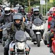 1200 Motorräder in Lübeck: Matheos Party im Video