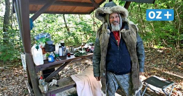 Kein Bock auf Zivilisation: Warum Johannes S. im Wald bei Grevesmühlen schläft