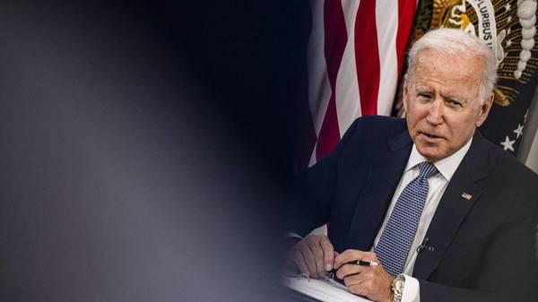 Bidens Präsidentschaftsteht auf der Kippe