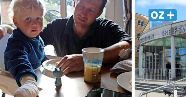 Unfassbar: Vater wartet mit Dreijährigem acht Stunden auf OP in Greifswalder Uniklinik