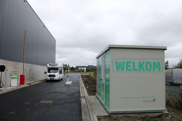 Une toute nouvelle aire de camping-car à Furnes - Veurne heeft gloednieuw kampeerwagenpark