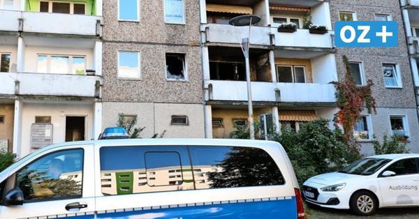 Stralsunder Haus nach Feuer unbewohnbar: Wie es für die Mieter in Knieper West nun weitergeht