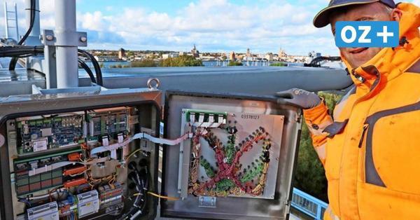 So funktioniert die Rügenbrücke: Warum es immer wieder Vollsperrungen geben wird