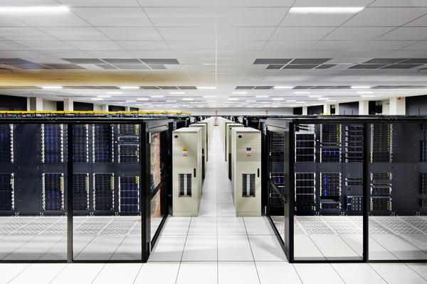 IBM cloud server, courtesy IBM