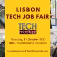 LISBON TECH JOB FAIR 2021 | Meetup