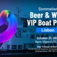 Sommelier Wine & Beer VIP Boat Party