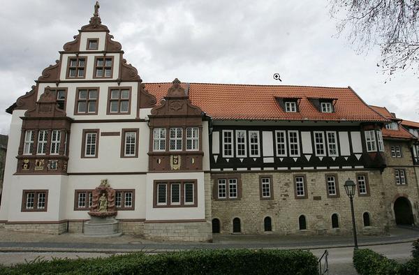 Die Abtei ist Teil der sehenswerten Altstadt von Bad Gandersheim. (Foto: Stadt Bad Gandersheim)