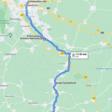 Hildesheim bis Sehlem: Teil 1 der Strecke als interaktive Karte