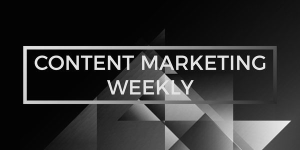 Content Marketing Weekly