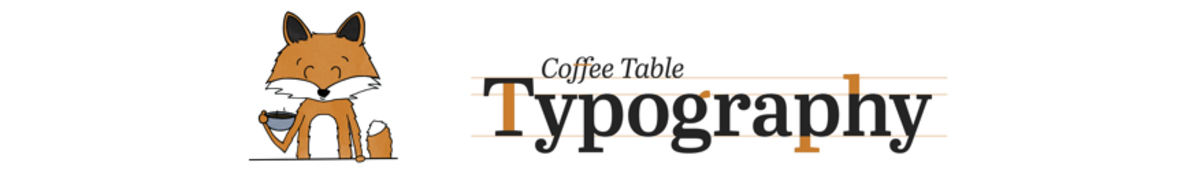 Coffee Table Typography