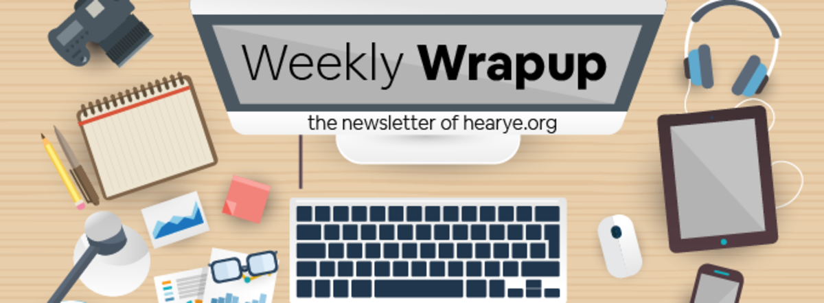Weekly Wrapup