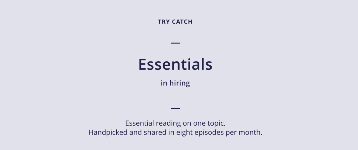 Try Catch Essentials