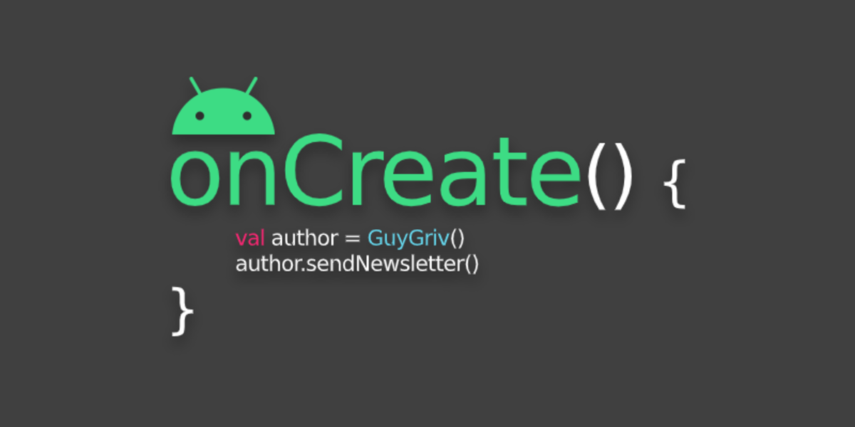 onCreate Digest