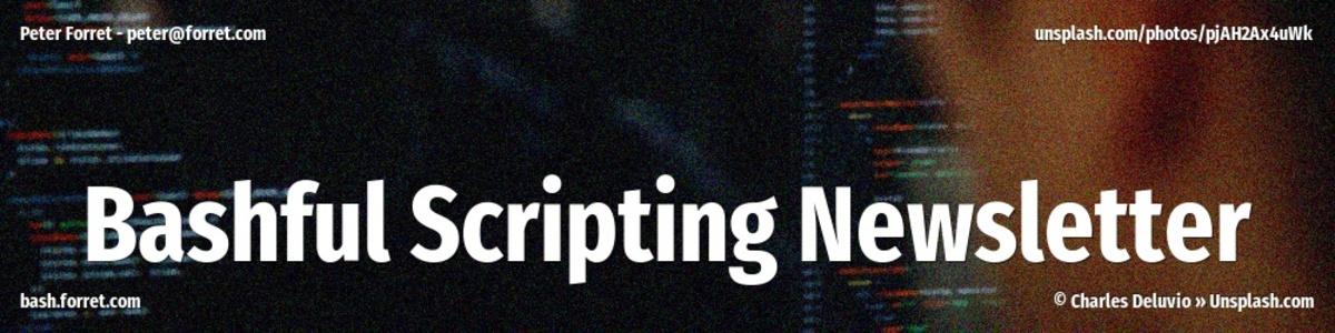 Bashful Scripting