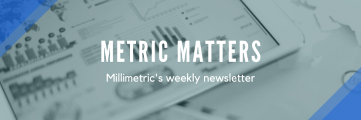 Metric Matters: Millimetric's weekly newsletter