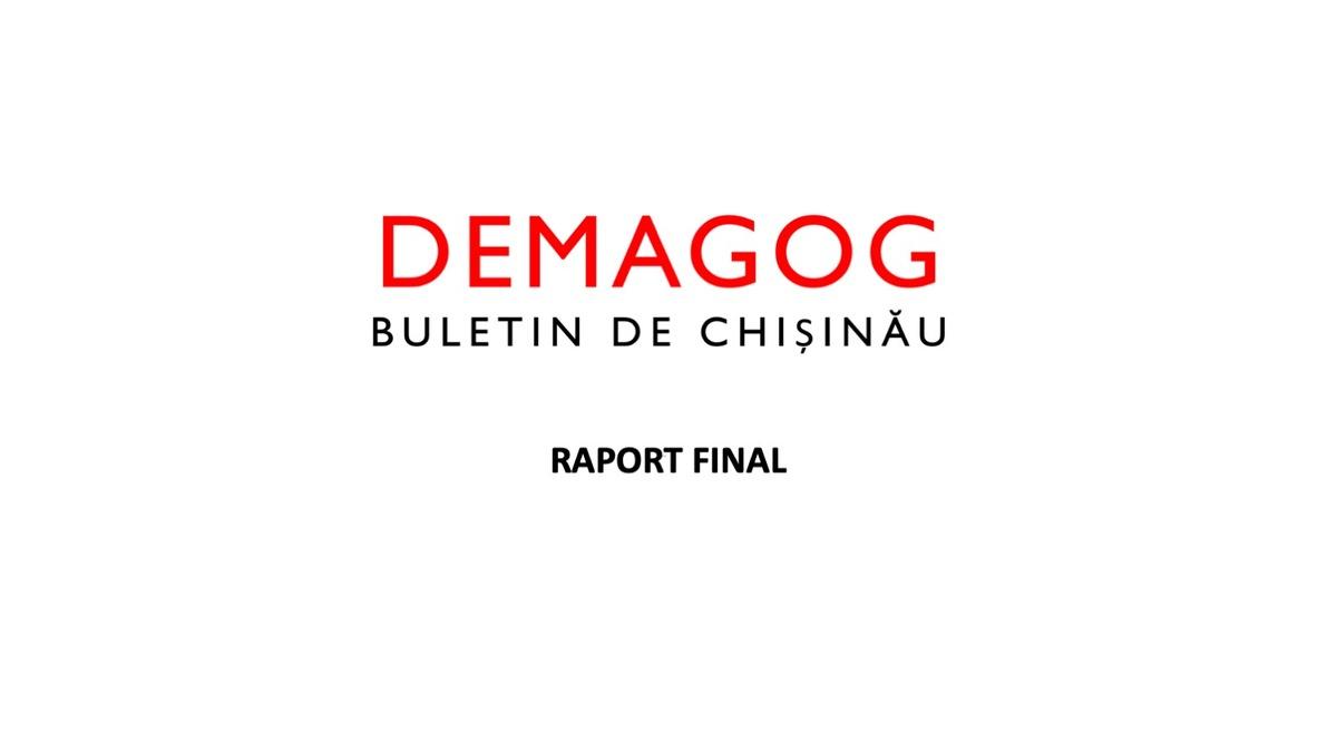 Demagog - Buletin de Chișinău