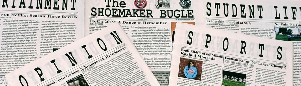 The Shoemaker Bugle Newsletter