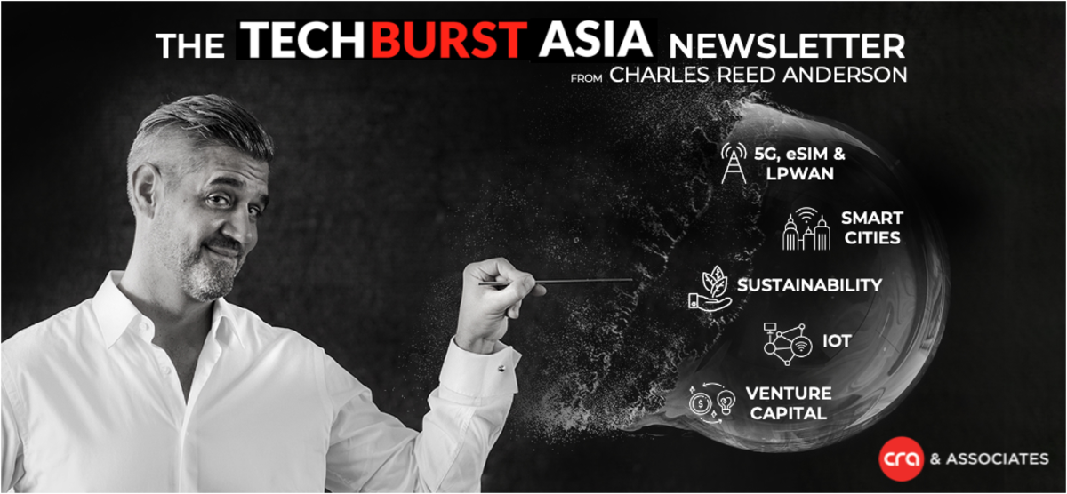 The TechBurst Asia Newsletter from Charles Reed Anderson