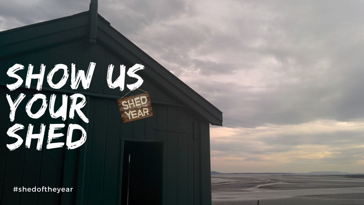 Behind the shed - An email about sheds & #shedoftheyear