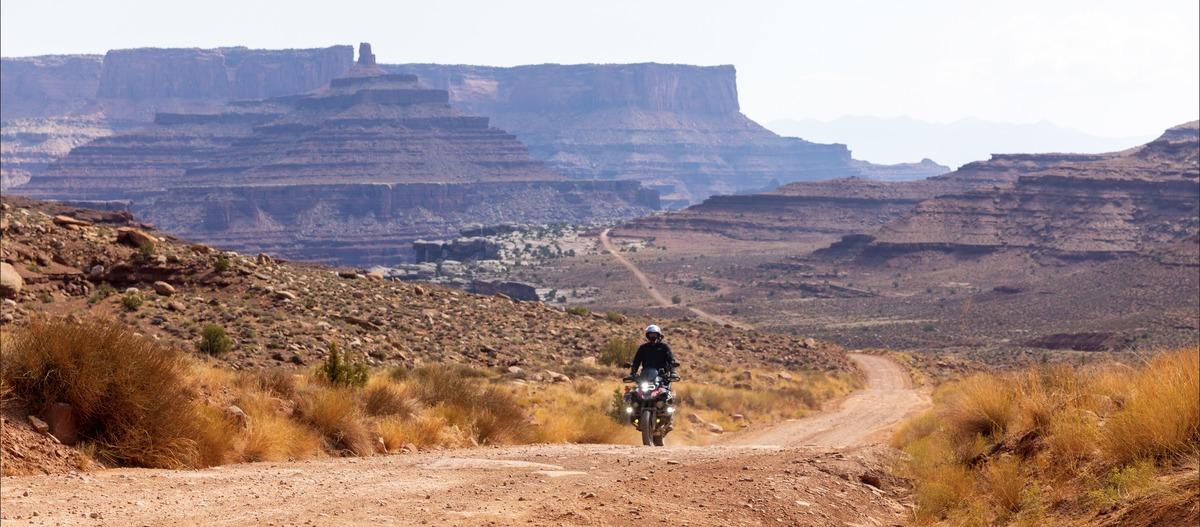 Adam Chandler on Motorcycles