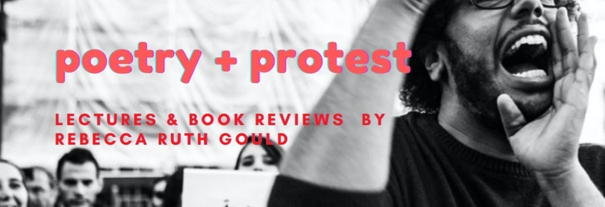 The Translator Activist: poetry & protest