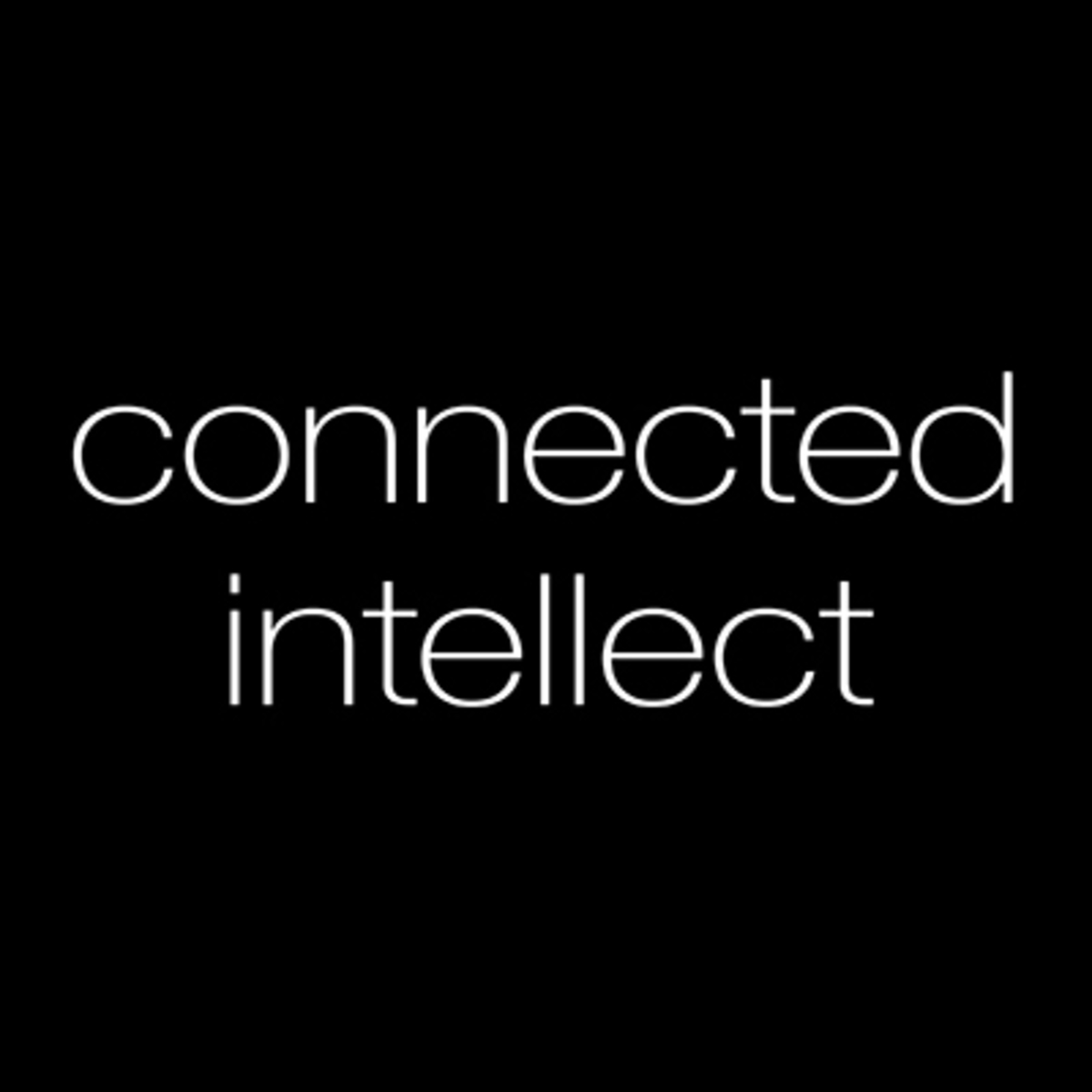Connected Intellect