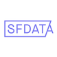 Sf data logo light purple for instagram