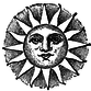 Stipple sun