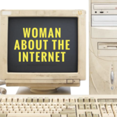 Woman About the Internet