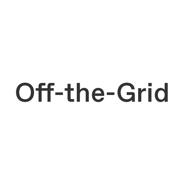 Off-the-Grid by Thisispaper