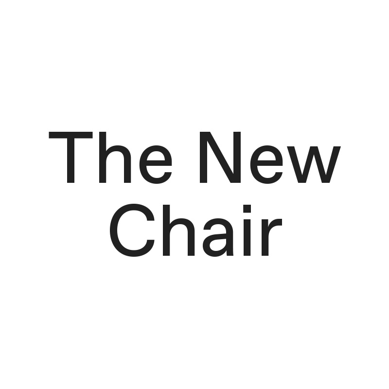 The New Chair | Thisispaper