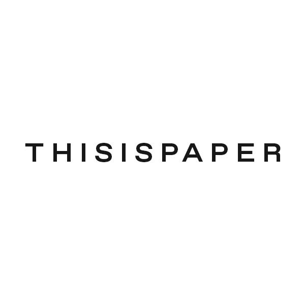 Thisispaper | Alexander Zaxarov