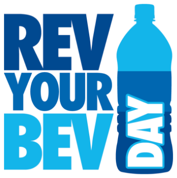 Rev Your Bev Day logo