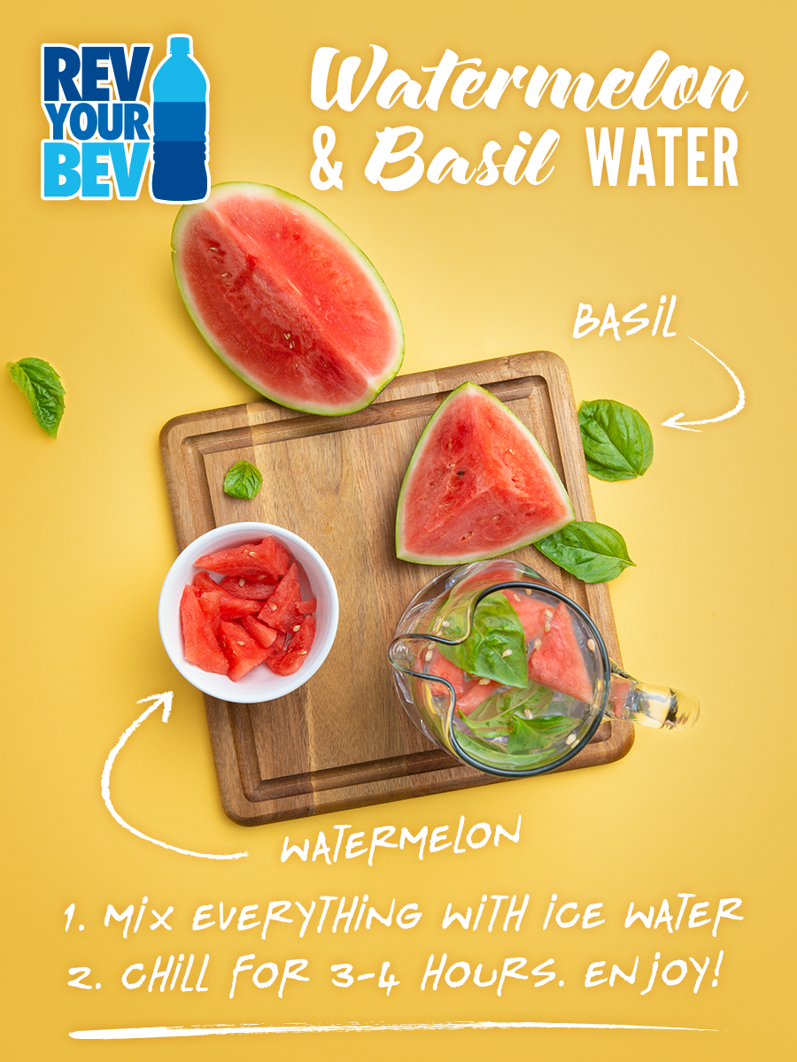 Watermelon & Basil Water