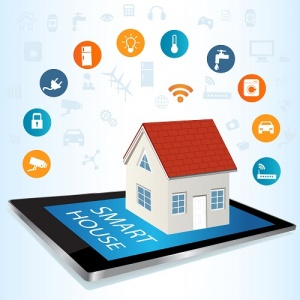 house on tablet