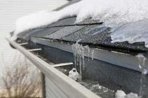 ice on roof