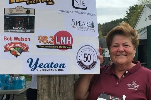 Kathy Bagley representing Verani at the race