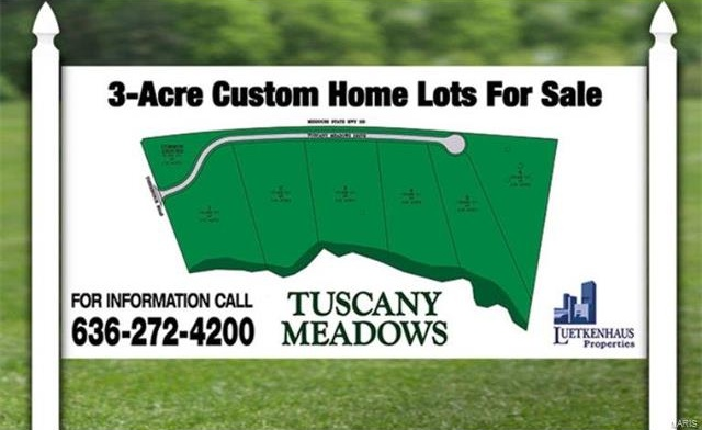 Photo of 0 Lot 3 Tuscany Meadows Drive Unincorporated MO 63341