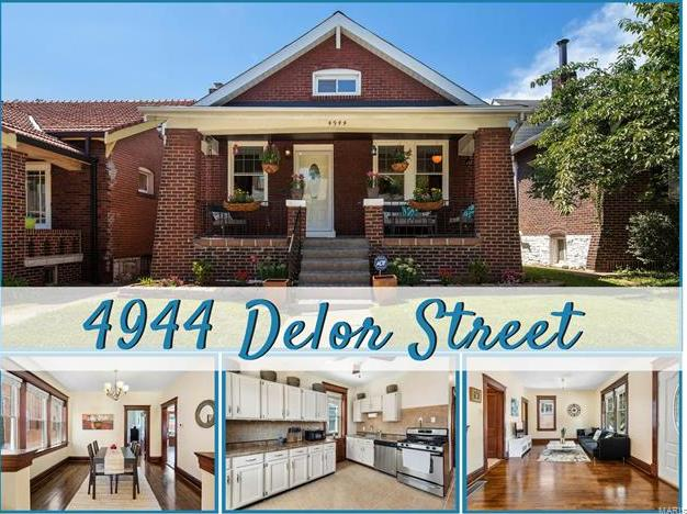 Photo of 4944 Delor Street St Louis MO 63109