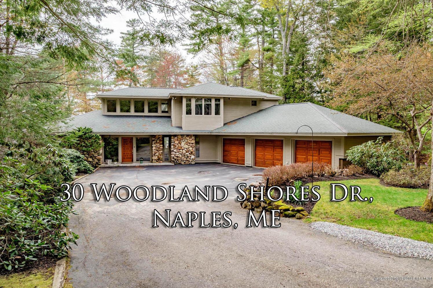 Photo of 30 Woodland Shore Drive Naples ME 04055