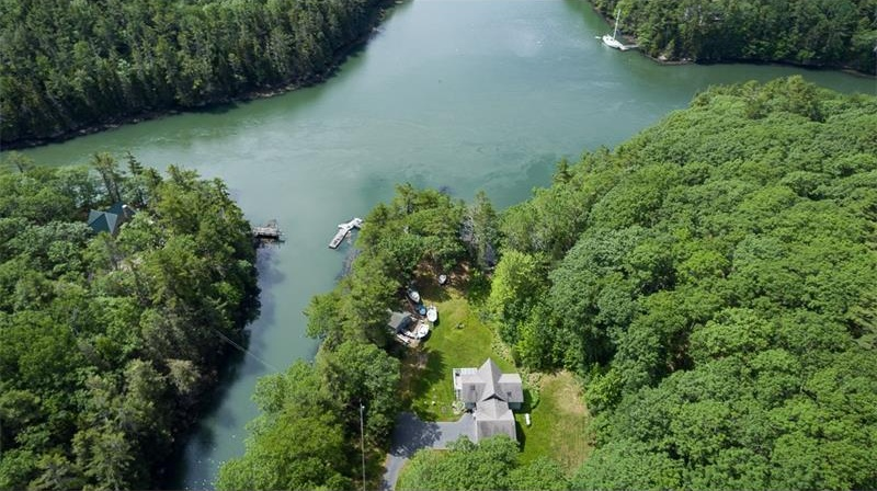 Photo of 240 Parsons Point RD Edgecomb ME 04556