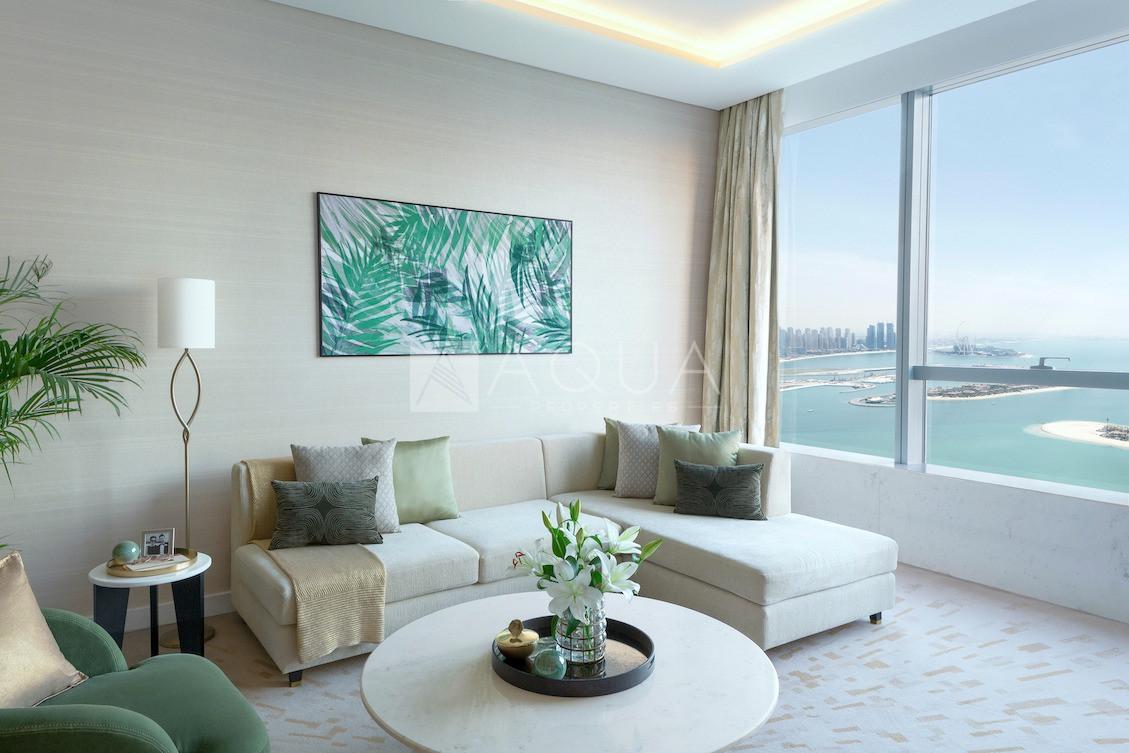 Corner Unit   Atlantis and Dubai Eye View