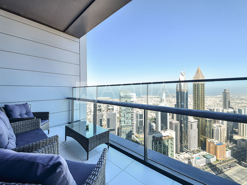 Spacious Layout with Balcony | DIFC View