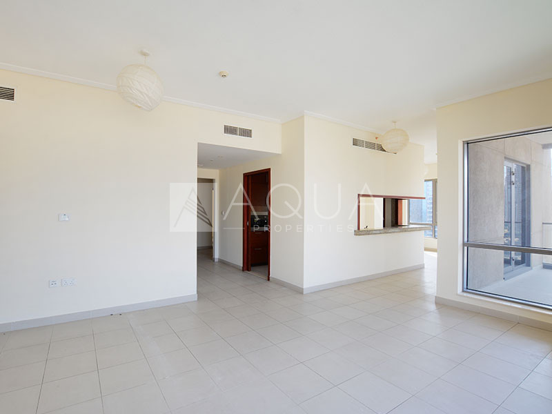 Well Maintained | Burj  View | Vacant by June