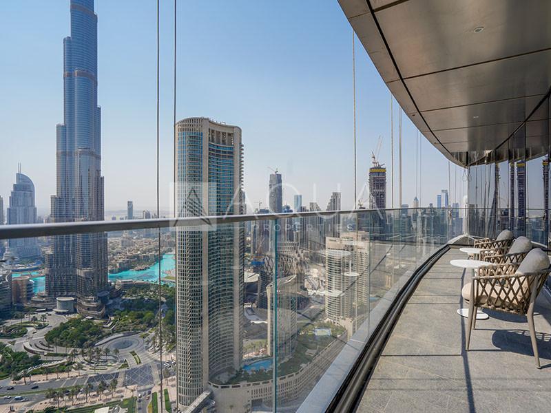 High Floor | Burj Khalifa & Sea Views