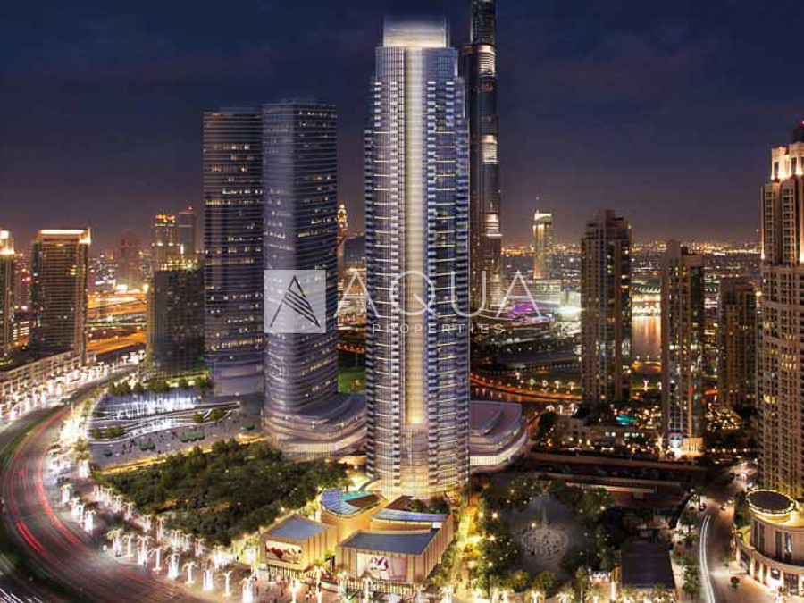 3 Balconies | High Floor | Full Burj Khalifa View