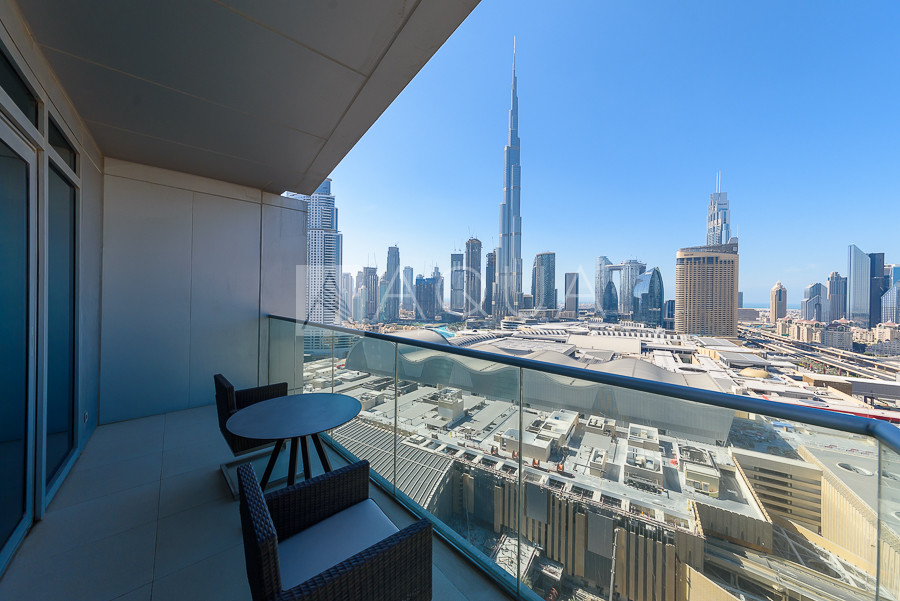 Furnished   Burj Khalifa and Fountain Views