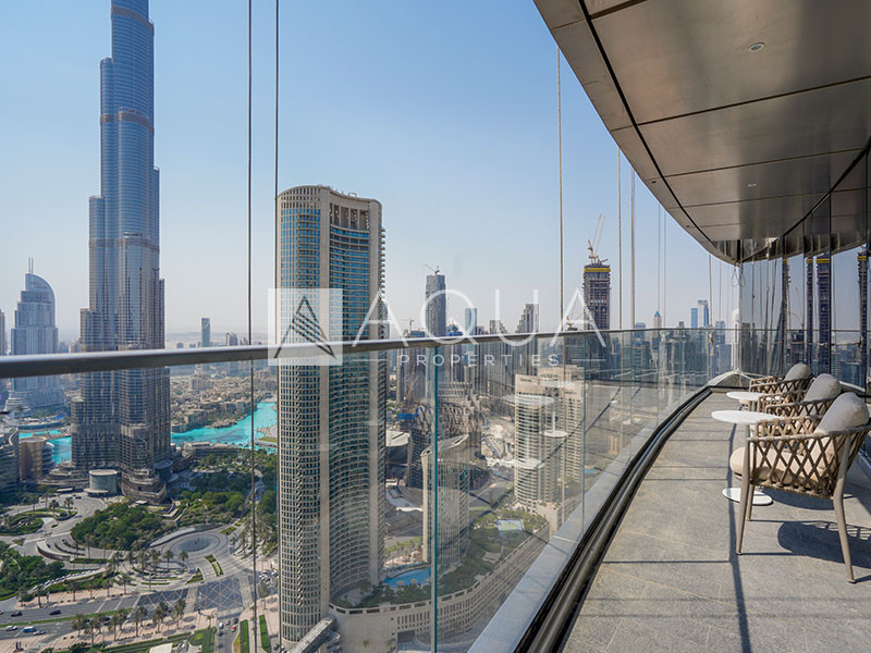 Burj Khalifa View | Genuine | High Floor